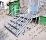 Лестница наружная для входа в помещение